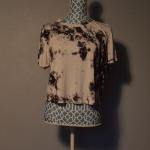 Crop Tie-dye shirt